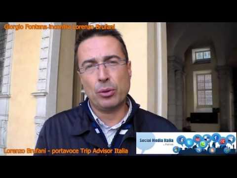 Lorenzo Brufani - Trip Advisor Italia- cosa propone Trip Advisor per usarlo al meglio