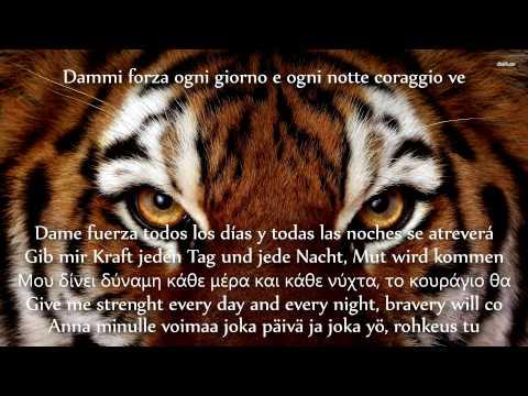 Sandokan Song (Italian) [Multilingual Translations]