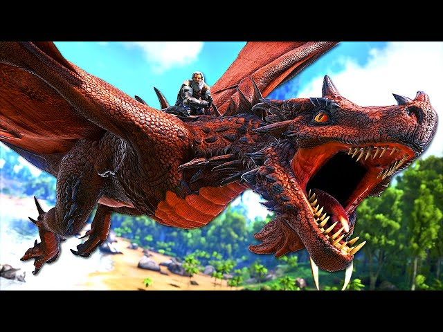 This WYVERN is the ULTIMATE KNOCKOUT DINOSAUR! | ARK O-MEGA Modded #34