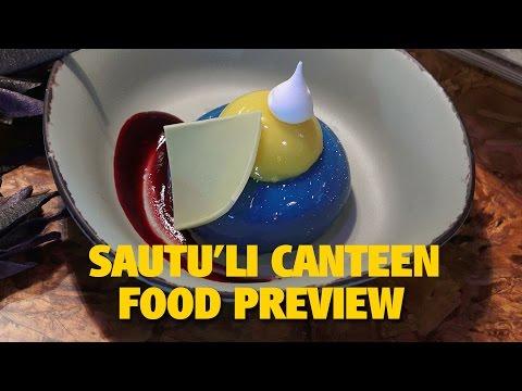 4K Satu'li Canteen Overview with Food   Pandora - The World of AVATAR