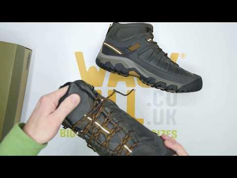 29232edb3d9d2 Keen Targhee III Mid WP - Black Olive - Unboxing   Walktall - YouTube