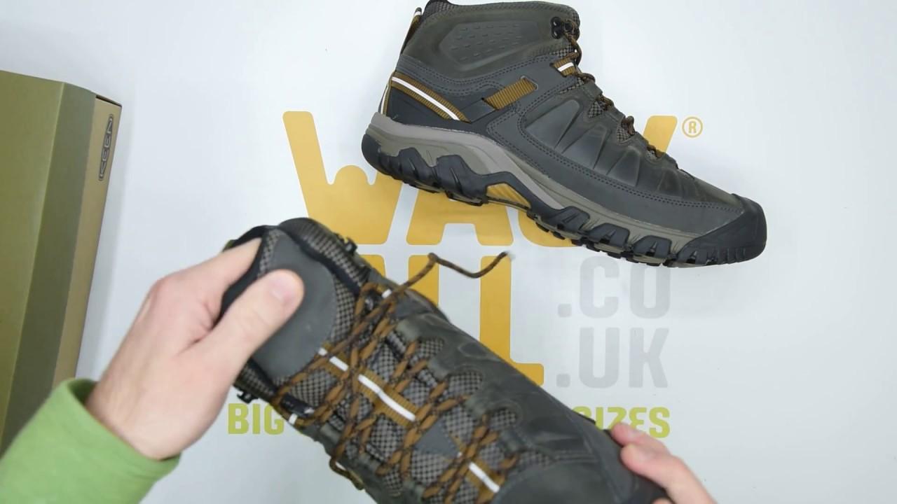 b827a1217ae Keen Targhee III Mid WP - Black Olive - Unboxing | Walktall