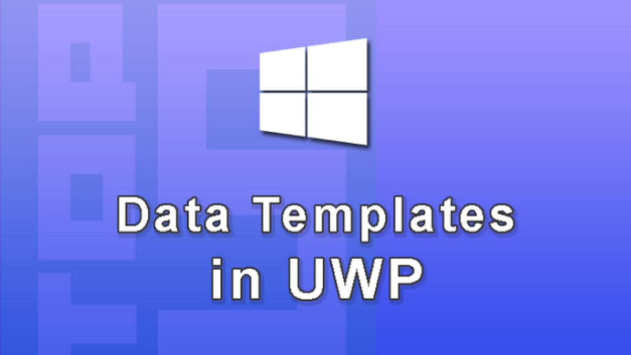 Xaml Data Template Binding in UWP (Windows 10 App Development)