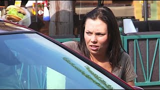 LOCKED IN MY CAR PRANK! - Will you feed me please?
