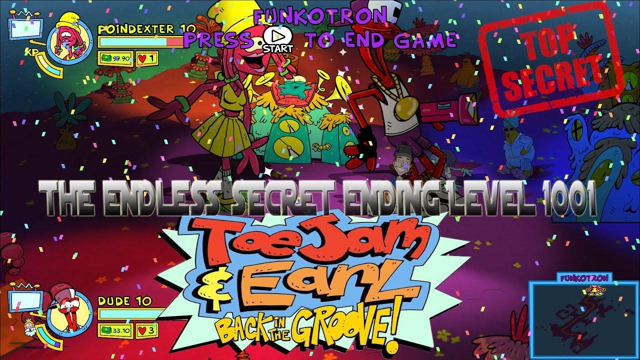 ToeJam & Earl: Back in the Groove! Secret Endless mode Ending!