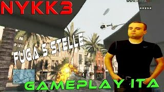 GTA 5 - Gameplay ITA HD - Fuga Dalle 5 Stelle In Carro Armato