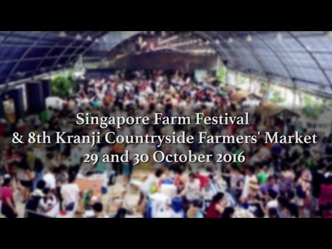Singapore Farm Festival & The 8th Kranji Countryside Farmers' Market | Happy-TV