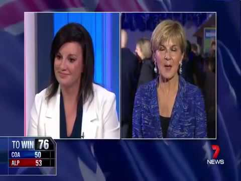 Jacqui Lambie tells Julie Bishop the Liberal Party needs to stop lying.mp4