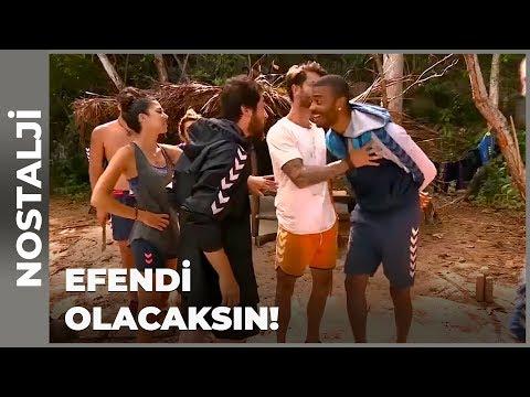 Semih Ile Efecan'ın Kavgası! - Survivor Nostalji