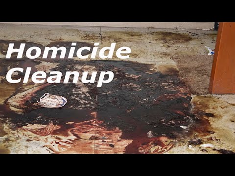 Homicide Cleanup