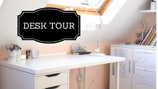 DESK TOUR | How I stay organised
