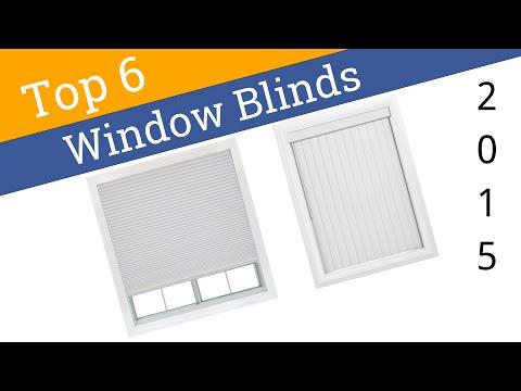 6 Best Window Blinds 2015