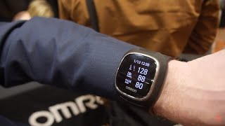 Omron Wrist BPM Smartwatch takes blood pressure on the wrist