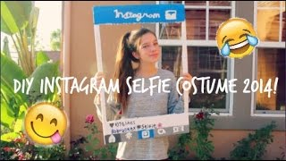 DIY Instagram Selfie Costume 2014! Thumbnail