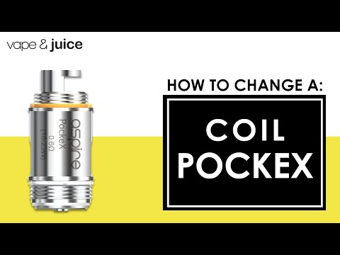 How to change an Aspire Pockex Coil | How do I change coils?