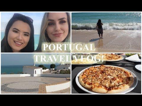 SUN, SEA & ALL THE FOOD | PORTUGAL TRAVEL VLOG