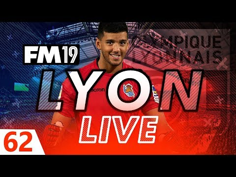 Football Manager 2019 | Lyon Live #62: A Rulli Good Signing? #FM19