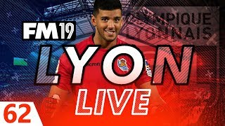 Football Manager 2019  Lyon Live 62 A Rulli Good Signing FM19