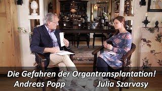 Die Gefahren der Organtransplantation! Andreas Popp im NuoViso Talk