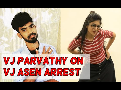 VJ Parvathy's official statement on Chennai Talks VJ Asen Arrest