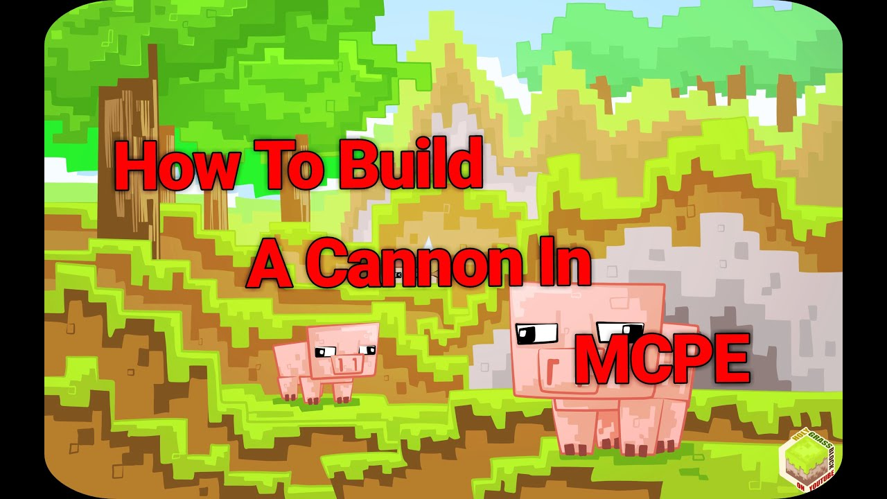 how to make a simple tnt cannon no redstone
