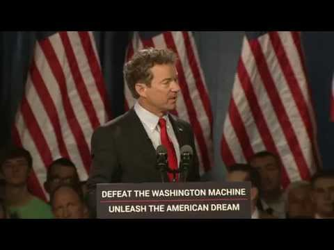Rand Paul 2016 Stand With Rand Rally, Kentucky