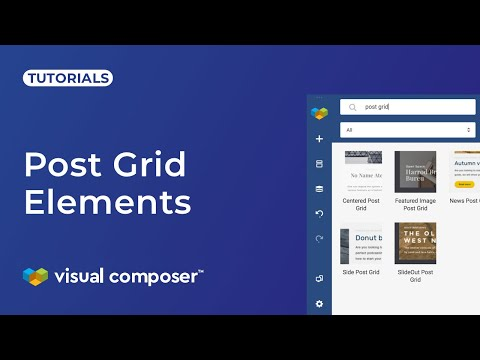 Post Grid and Data Source - Visual Composer Website Builder