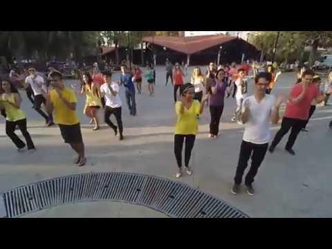 Fortaleza, Brazil - International Flashmob West Coast Swing 2016