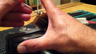 видео Цилиндр DOM Saturn 60 (30-30) Никель Шток