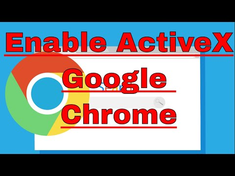 How to Enable ActiveX in Google Chrome