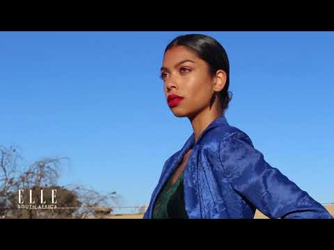 ELLE  South Africa February Fashion Shoot BTS