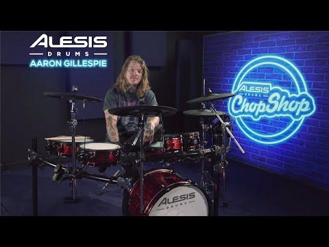 "Underoath ""On My Teeth"" Drum Playthrough w/Aaron Gillespie | Alesis Drums Chop Shop"