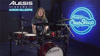 "Underoath ""On My Teeth"" Drum Playthrough w/Aaron Gillespie   Alesis Drums Chop Shop"