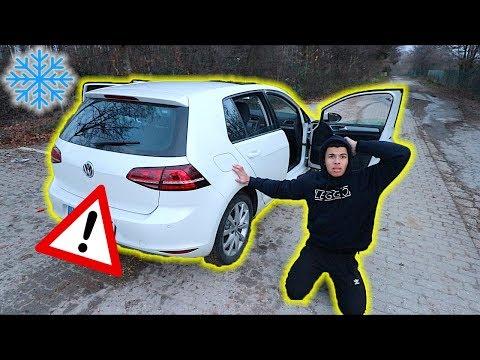 MIT AUTO IM NIRGENDWO STEHEN GEBLIEBEN !!! (GRUSELIG) | PrankBrosTV