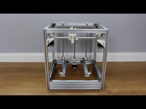 Hypercube 3d Printer Build Part 3 Mechanical Parts Youtube