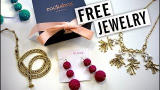 Get a Free Month of Jewelry! - Rocksbox Unboxing
