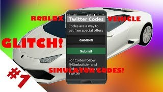 (Roblox) Vehicle Simulator Codes And Glitch