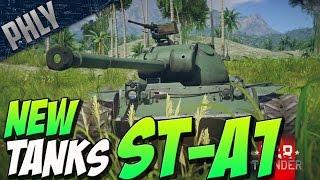 new tanks st a1 type 3 chi nu war thunder tanks devblog