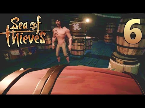 [6] Red Barrel Surprise! Nitz Joins The Crew! (Sea Of Thieves Gameplay PC)