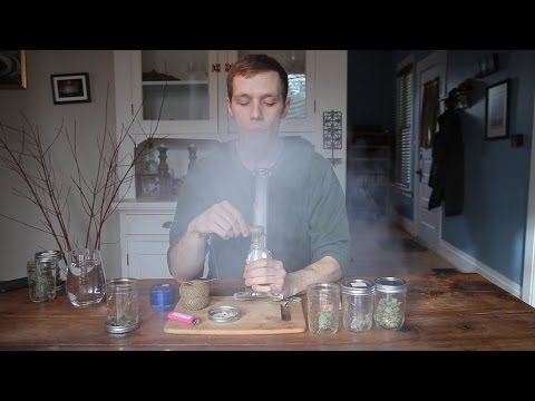Watch: Oregonian pot critic tries the marijuana we grew | Pot Grow Diary (Day 242)