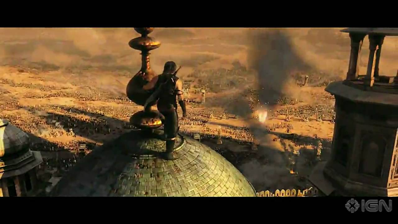Prince Of Persia Forgotten Sands Launch Trailer Youtube