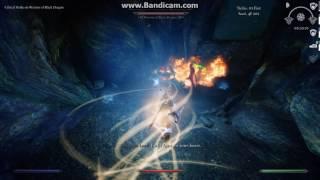 Skyrim - Colorful Magic : Warrior of Black Dragon solo