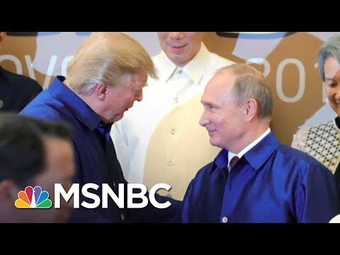 Donald Trump Compliments Vladimir Putin & Blasts Former U.S. Intel Bosses | The 11th Hour | MSNBC
