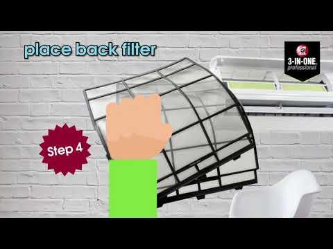 WD40 3 IN ONE® Professional Air Conditioner Cleaner @estoresingapore