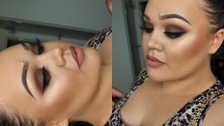 simple brown smokey eyes   valentines eye makeup tutorial   makeupwithjah