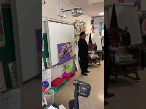 Jesse Raudales at Hillsmere Elementary School