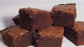 Печенье Пироженое «Брауни» кулинарный видео рецепт