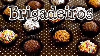 Brigadeiros (Brazilian Chocolate Fudge Truffles) ブリガデイロ (ブラジル定番スイーツ) - OCHIKERON - CREATE EAT HAPPY