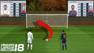 Ronaldo vs Messi Penalty Shootout Dream League Soccer 18