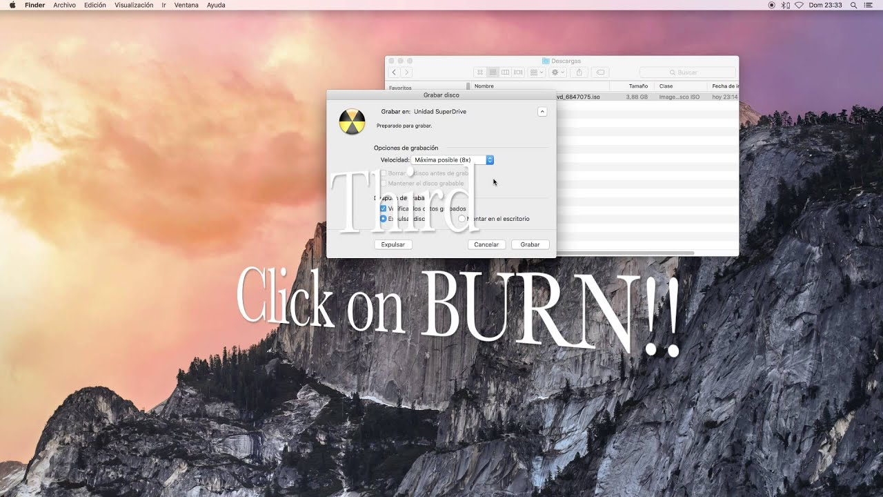 How to burn an ISO image to a disc simply and quickly 36